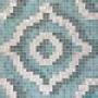 Мозаичное панно Vetricolor Velvet Grey Oro Bianco