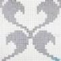 Мозаичное панно Vetricolor Hearts White