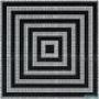Мозаичное панно Opus Romano Zebra