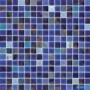 Мозаичная смесь JNJ Gold Link 20х20 мм, 327х327 JC 875