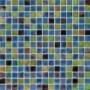 Мозаичная смесь JNJ Gold Link 20х20 мм, 327х327 JC 813