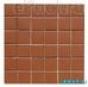 Мозаика однотонная Serapool фарфоровая противоскользящая 5х5 см,