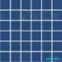 Мозаика однотонная Serapool фарфоровая 5х5 см, темный сомон