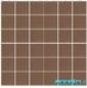 Мозаика однотонная Serapool фарфоровая 5х5 см, темно-розовая