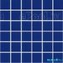 Мозаика однотонная Serapool фарфоровая 5х5 см, кобальт гармония