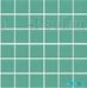 Мозаика однотонная Serapool фарфоровая 5х5 см, кобальт