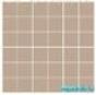 Мозаика однотонная Serapool фарфоровая 5х5 см, бледно-розовая