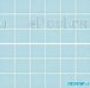 Мозаика однотонная Serapool фарфоровая 5х5 см, бледно-зеленая
