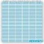 Мозаика однотонная Serapool фарфоровая 2,5х5 см, голубая вода