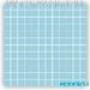 Мозаика однотонная Serapool фарфоровая 2,5х2,5 см, голубая вода
