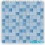 Мозаика однотонная Serapool фарфоровая 2,5х2,5 см, гармония синя