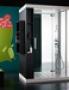 Кабина glass anthropos (пристенно-боковая) 140х100, продажа каби
