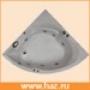 Угловые ванные Aquanet Bali 140x140