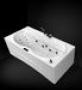 Акриловая гидромассажная ванна GNT STYLE 180х80 Basic Plus